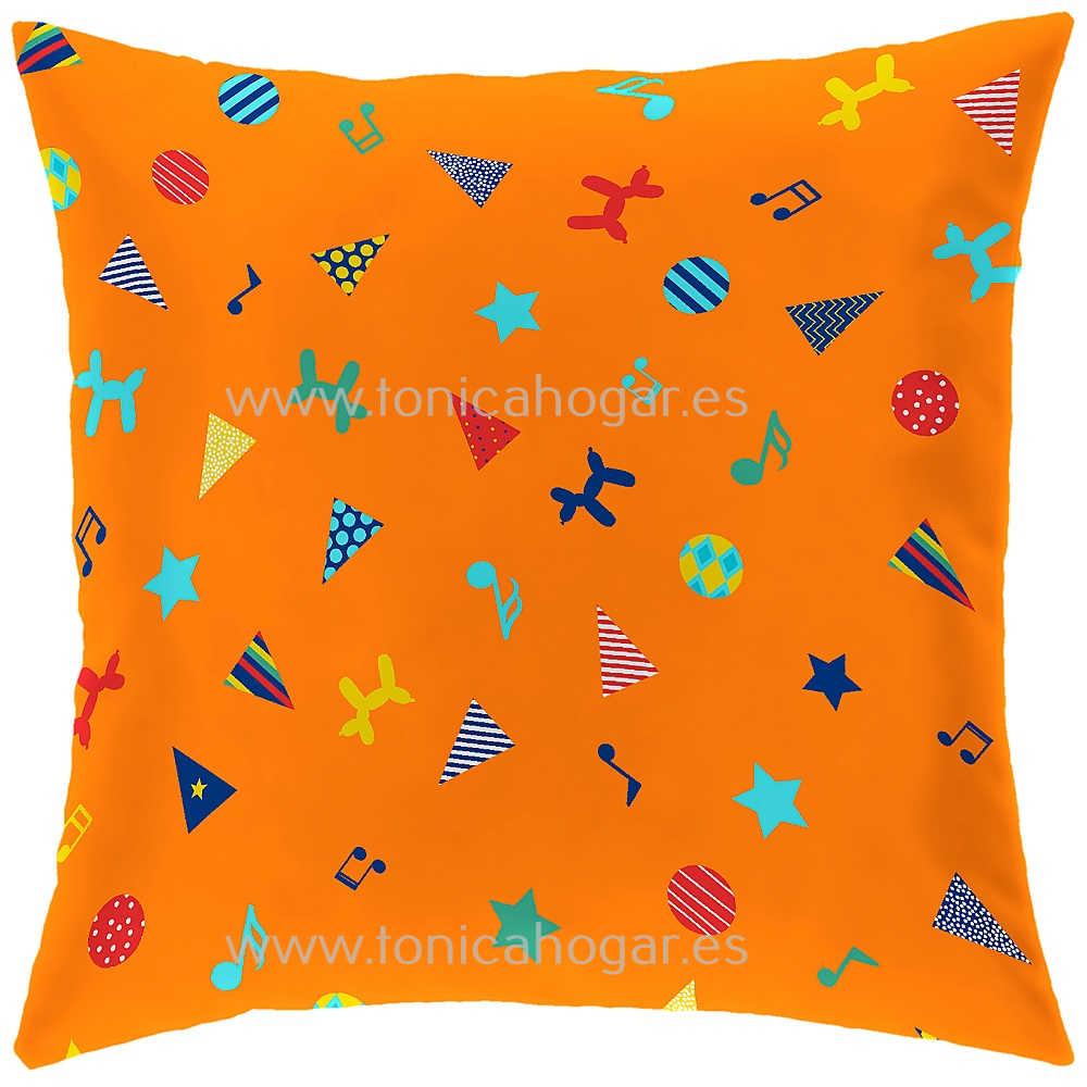 Cojín Infantil CIRCUS C de CAÑETE Naranja Cojín 30x50 Naranja Cojín 50x50 Naranja Cojín 50x70