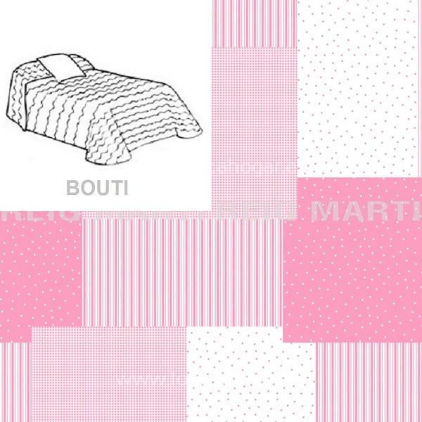 Colcha Boutie COCESE 2P de Reig Marti Rosa 090