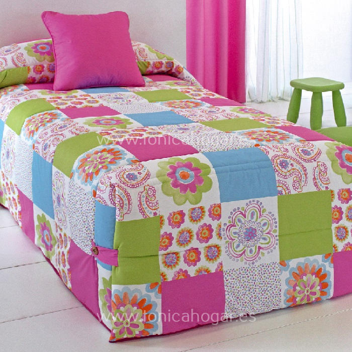 Edredón Conforter CONNY 02 Multicolor de Reig Marti Chicle 090 Chicle 105
