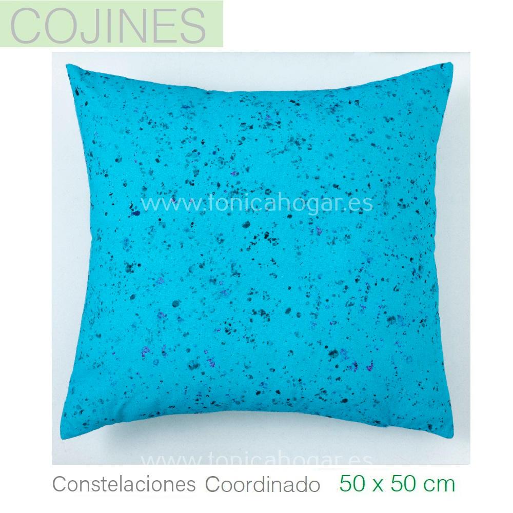 Funda Cojín CONSTELACIONES coordinado de Sansa Azul Funda Cojín 50x50