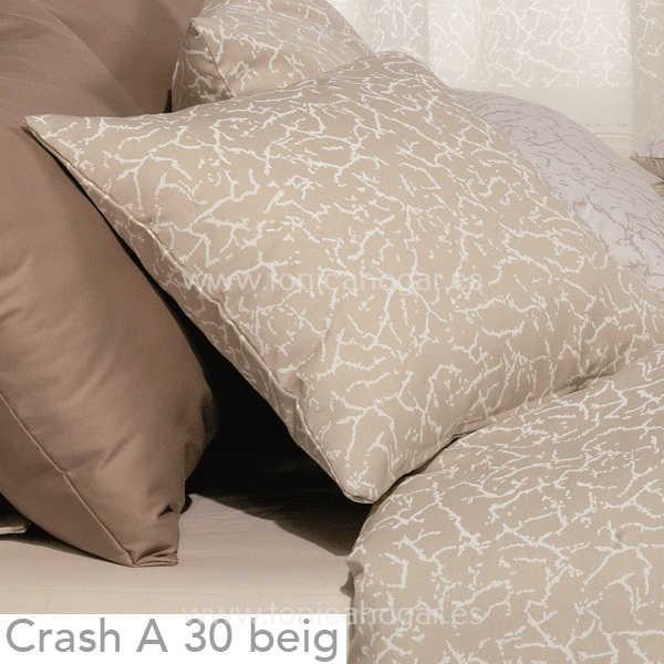 Cojín CRASH A Beig de CAÑETE Piedra Cojín 30x50 Piedra Cojín 50x50 Piedra Cojín 50x70