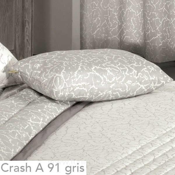 Cojín CRASH A Gris de CAÑETE Plomo Cojín 30x50 Plomo Cojín 50x50 Plomo Cojín 50x70