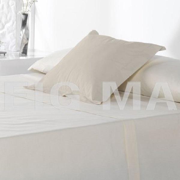 Fundas Almohadas y Cuadrantes Cottonlife Reig Marti Lino Funda Cojín Pestaña 50x50+5