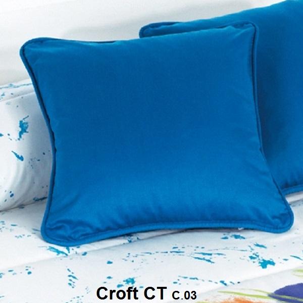 Cuadrante Croft CT de Reig Marti Azul Cojín 50x50