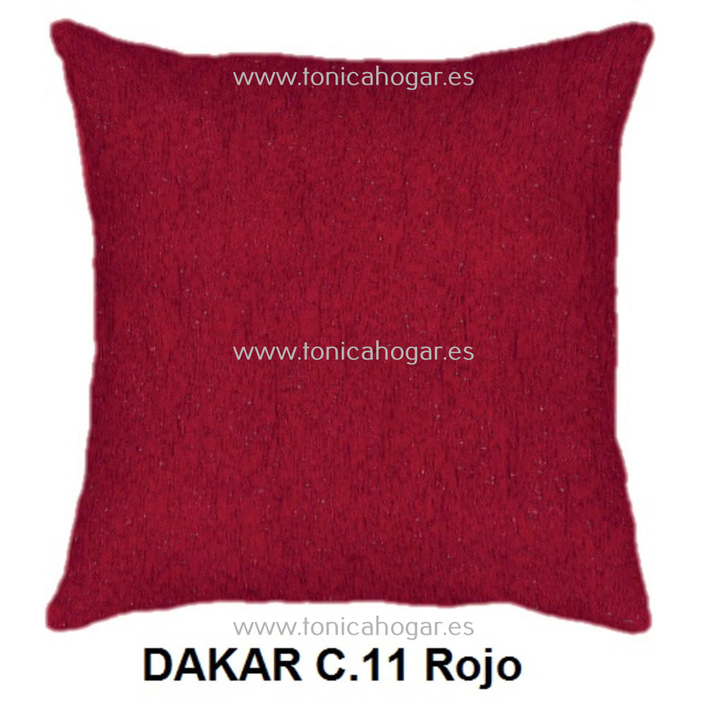 Cojín DAKAR de CAÑETE Rojo Cojín 50x70