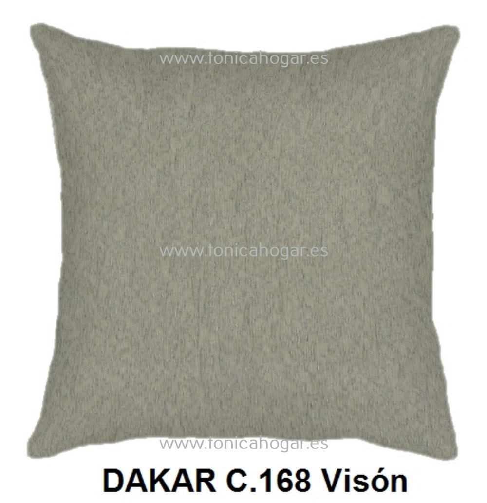Cojín DAKAR de CAÑETE Vison Cojín 50x70