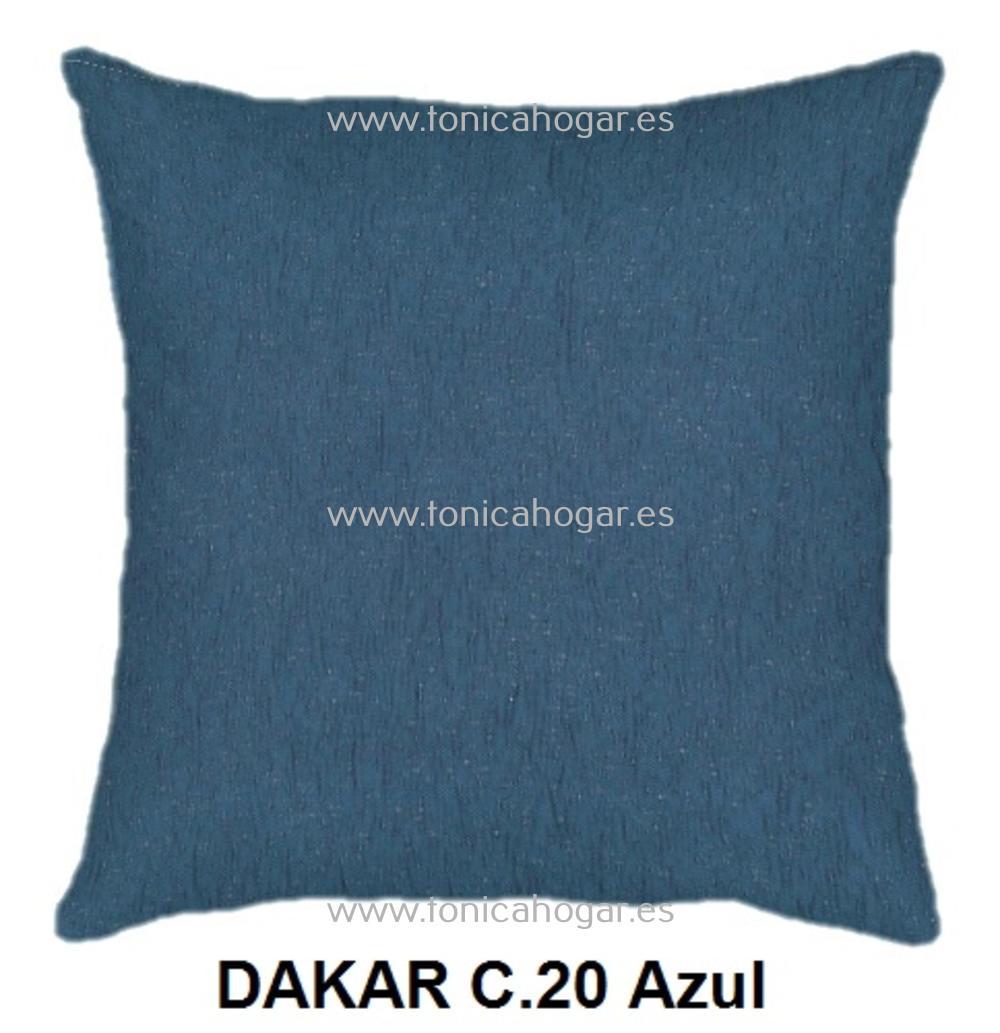 Cojín DAKAR de CAÑETE Azul Cojín 50x70