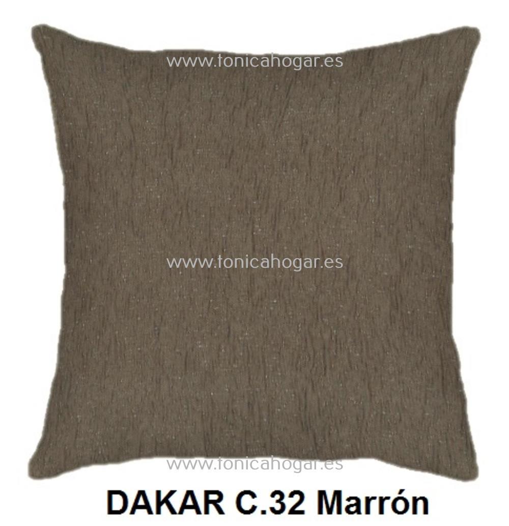 Cojín DAKAR de CAÑETE Marron Cojín 50x70