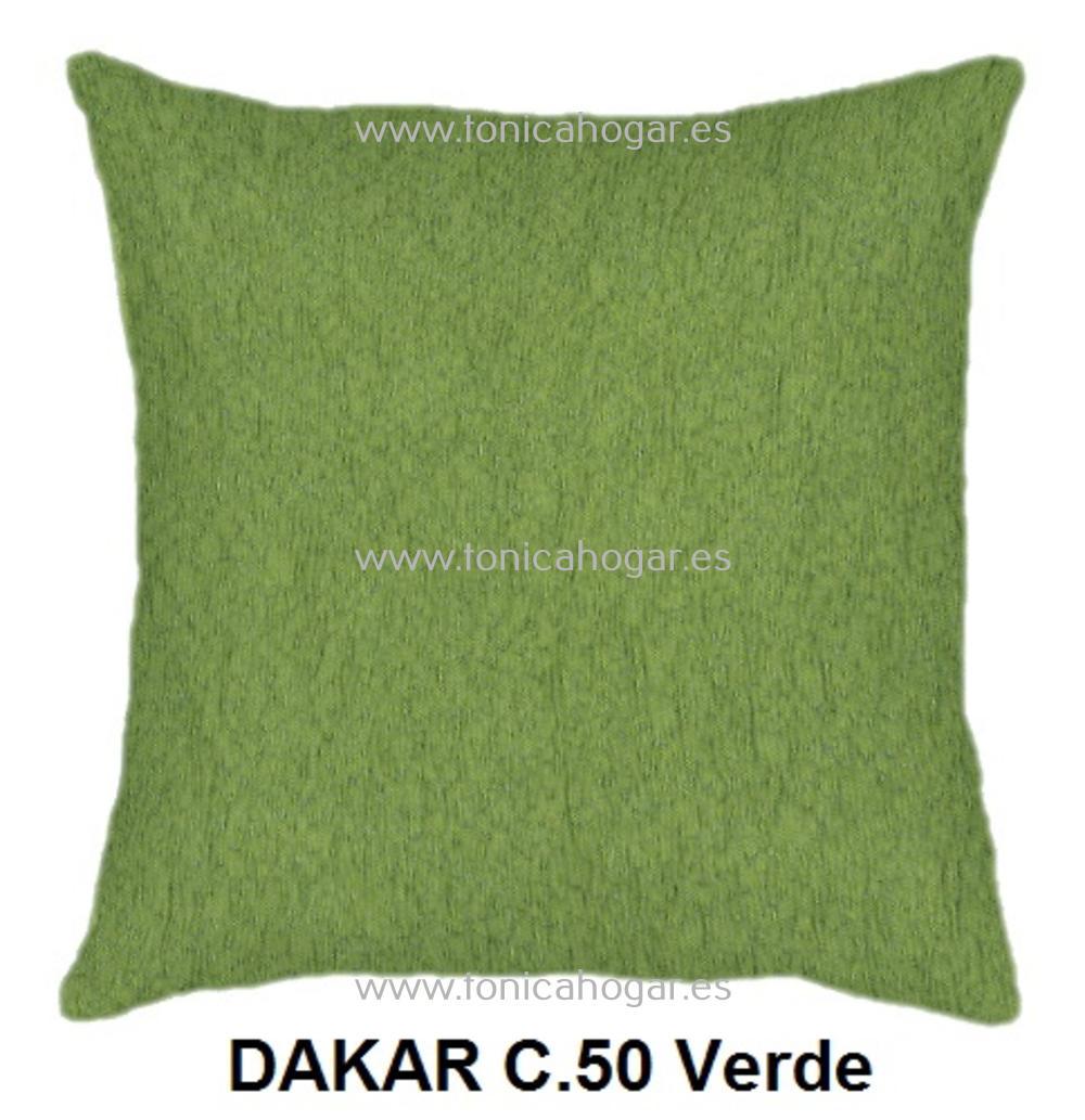 Cojín DAKAR de CAÑETE Verde Cojín 50x70