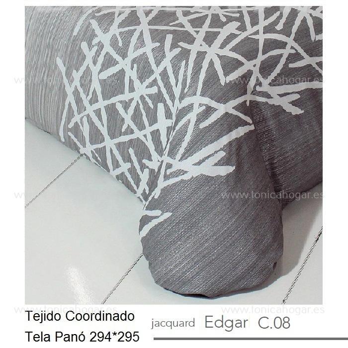 Tejido EDGAR PANEAUX MT Gris de Reig Marti Gris Tela 294x295