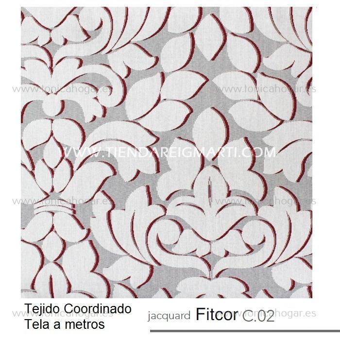 Tejido FITCOR MT Morado de Reig Marti Fucsia Tela Alto 280