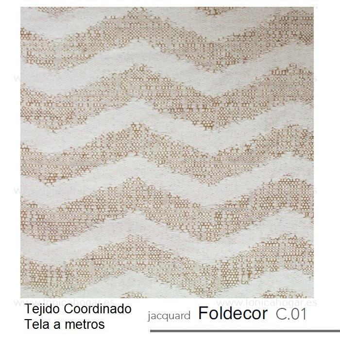Tejido FOLDECOR MT Lino de Reig Marti Lino Tela Alto 280