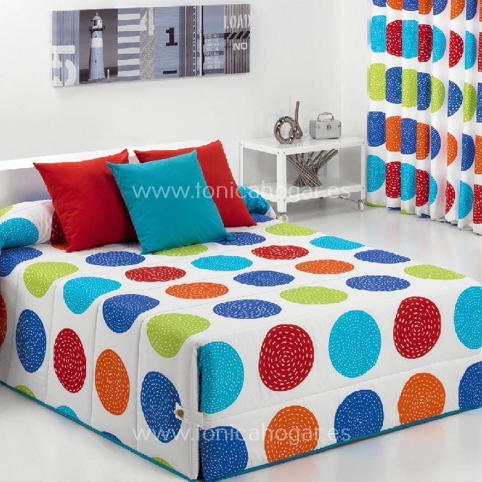 Edredón Conforter FORLI 02 Azul de Reig Marti Azul 090 Azul 105