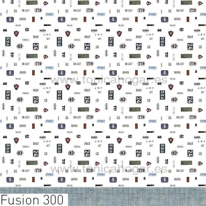 Tejido FUSION 300MT de Tejidos JVR Blanco Tela Alto 280