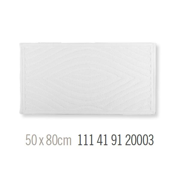 Alfombra de Baño GEO BLANCO de Sorema Blanco Alf.Baño 50x80