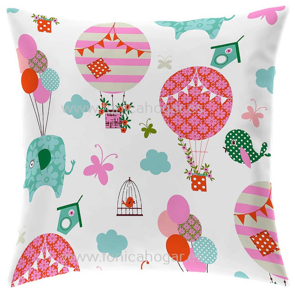 Cojín Infantil GLOBE B de CAÑETE Multicolor Cojín 30x50 Multicolor Cojín 50x50 Multicolor Cojín 50x70