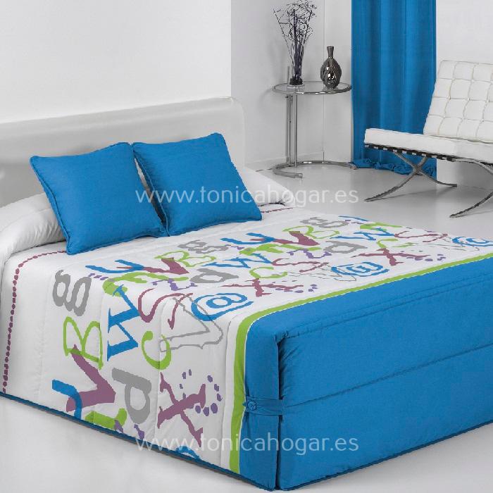 Edredón Conforter GRAFIC 02 Azul de Reig Marti Azul 090 Azul 105