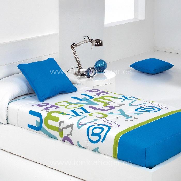 Edredón Ajustable GRAFIC AG Azul de Reig Marti Azul 090 Azul 105