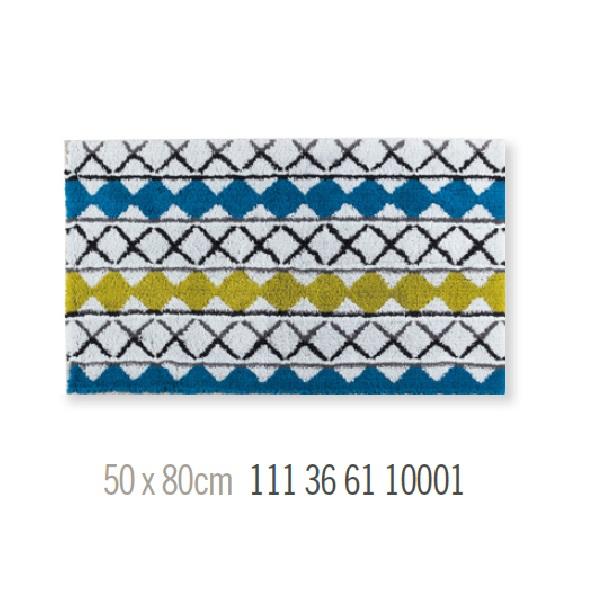 Alfombra de Baño GRID de Sorema Multicolor Alf.Baño 50x80