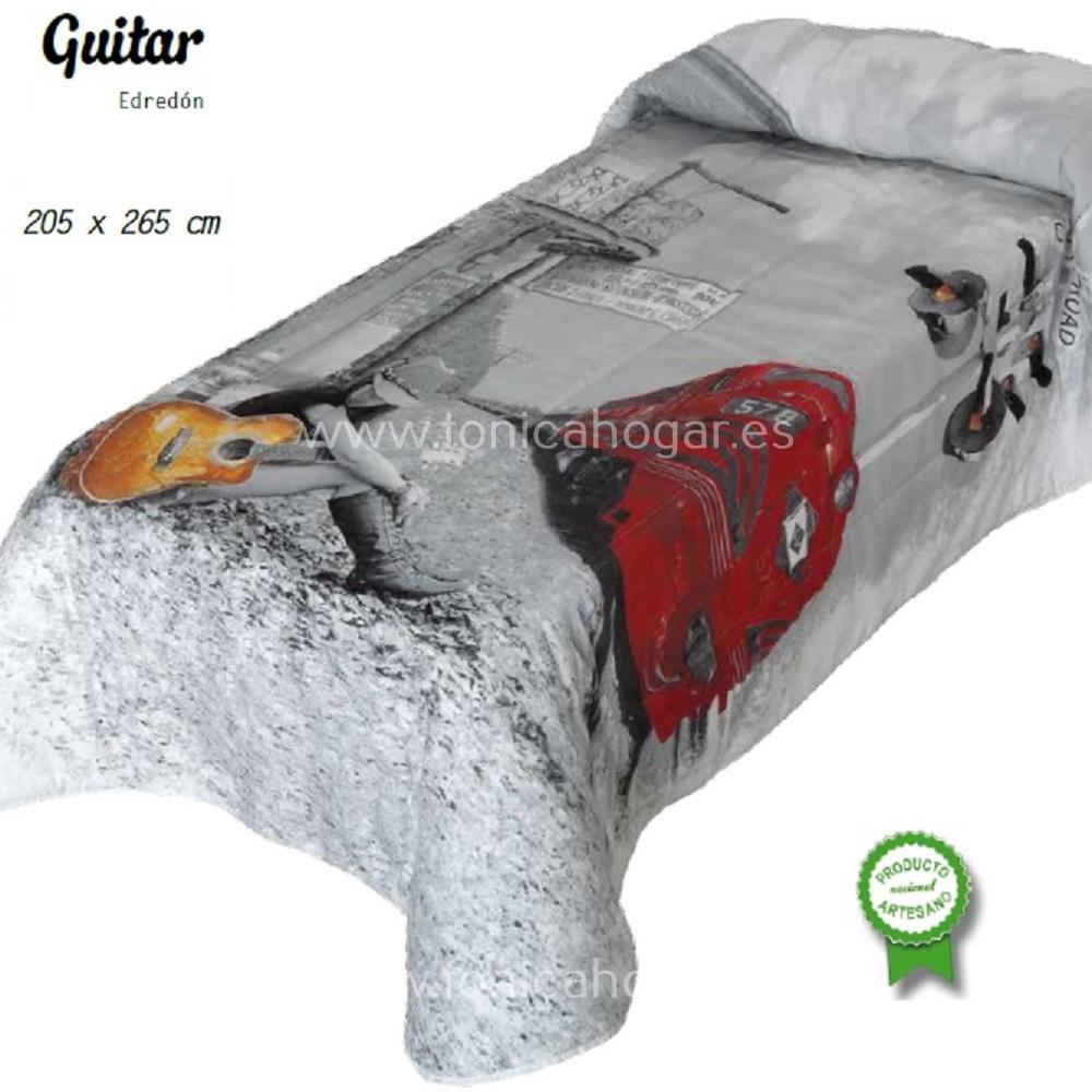 Edredón Conforter Guitar de Edrexa Rojo 105