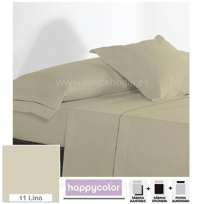 Juego Sábanas Happycolor JS Reig Marti Happycolor 11 Lino 090 Happycolor 11 Lino 105 Happycolor 11 Lino 135 Happycolor 11 Lino 150 Happycolor 11 Lino 180