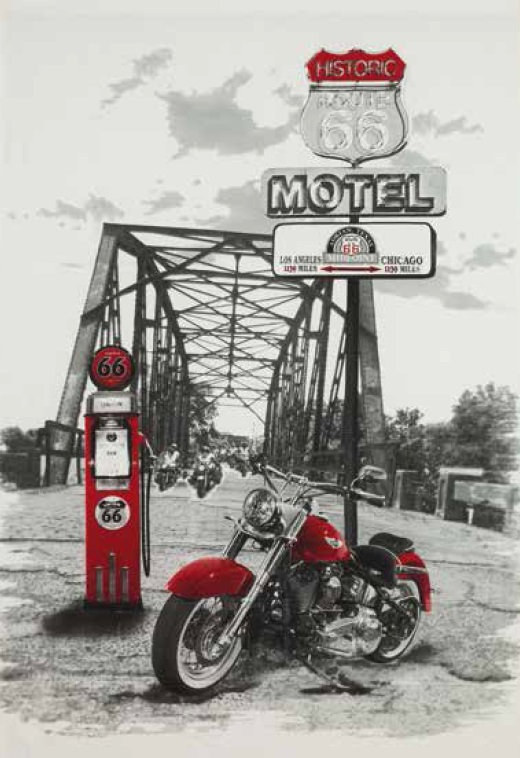 Boutie Harley de EDREXA Rojo 150