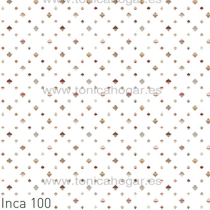 Tejido INCA 100MT de JVR Marrón Tela Alto 280