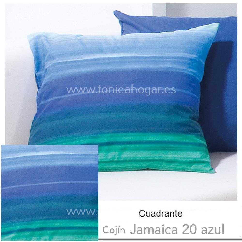 Cojín JAMAICA Azul de CAÑETE Azulón Cojín 50x50