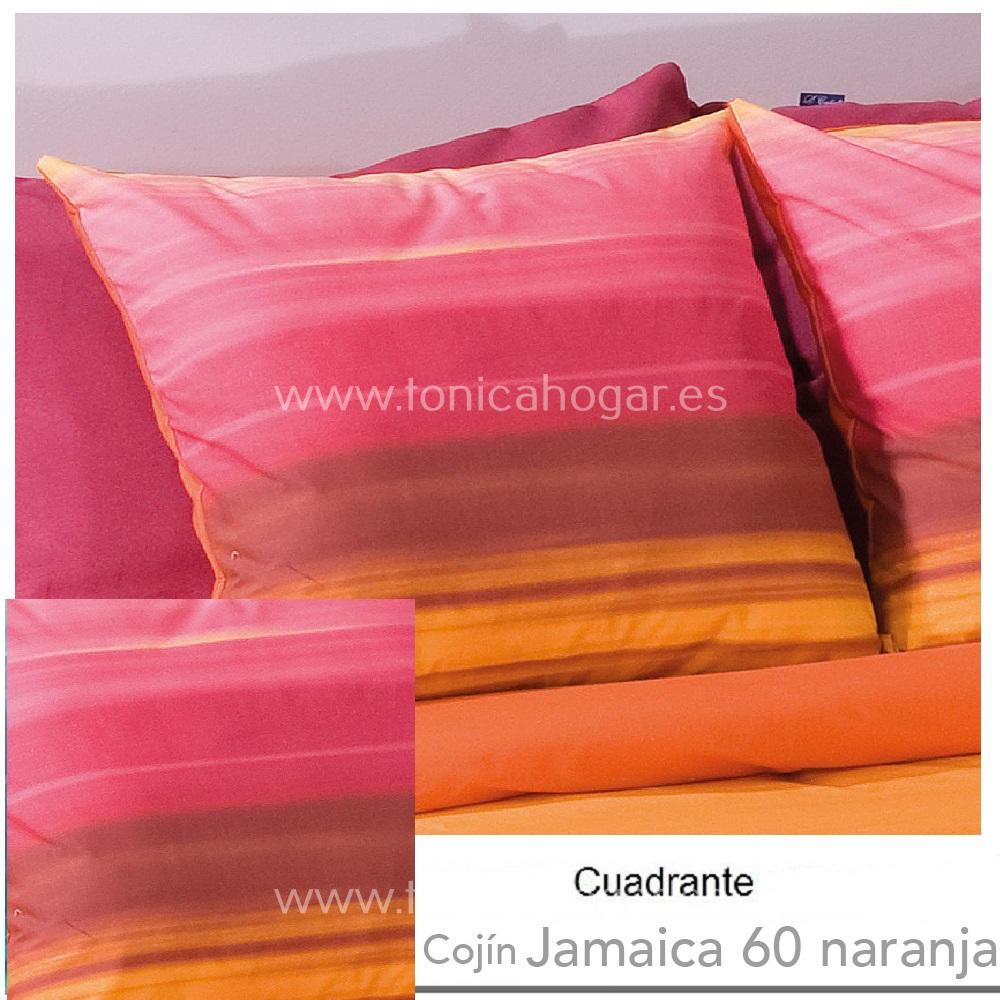 Cojín JAMAICA Naranja de CAÑETE Naranja Cojín 50x50