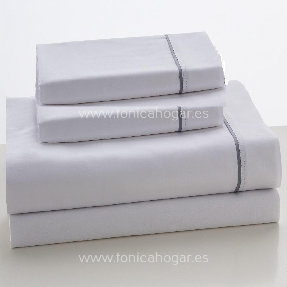 Juego Sábanas SATEN de Es-Telia 001 Blanco 150+2 F.Alm 001 Blanco 160 001 Blanco 180 001 Blanco 200