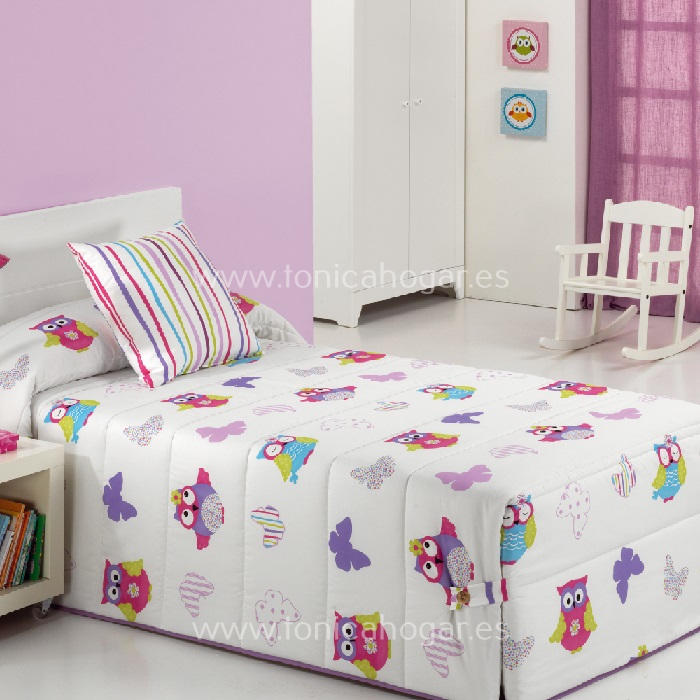 Edredón Infantil LALA 02 Multicolor de Reig Marti. Multicolor 090 Multicolor 105