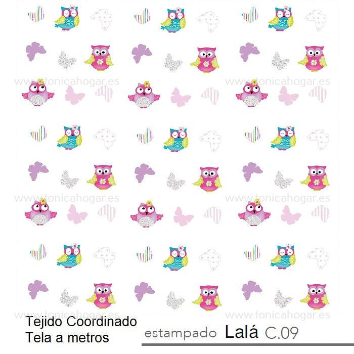 Tejido LALA MT Multicolor de Reig Marti Multicolor Tela Alto 280