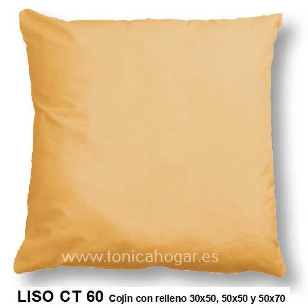 Cojín LISO de CAÑETE Naranja Cojín 50x70