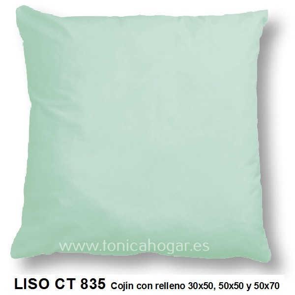 Cojín LISO de CAÑETE Verde_Glacial Cojín 50x70