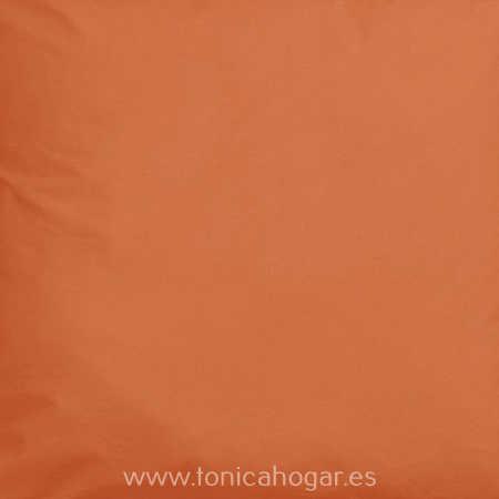 Tejido estampado PLAY de CAÑETE Naranja Caqui Tela Alto 280