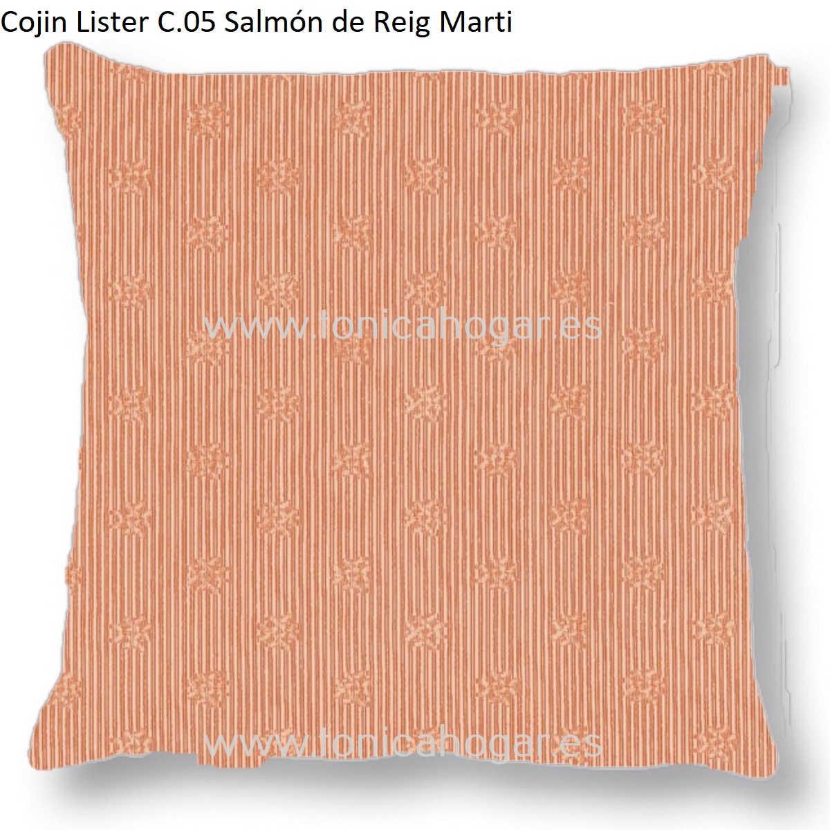 Cojín LISTER CT de Reig Marti Salmón Cojín 55x55