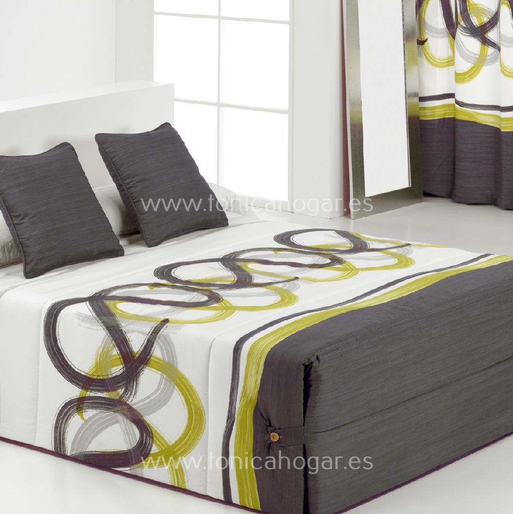 Edredón Conforter LIVORNO 02 Gris de Reig Marti Gris 090 Gris 105 Gris 135 Gris 150