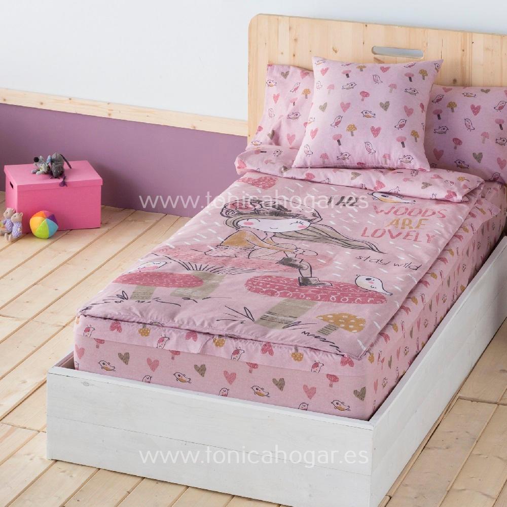 Saco Nordico LOVELY de SANSA Rosa 090 Con Relleno Rosa Sin Relleno 090