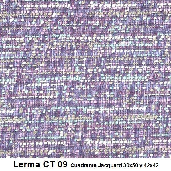 Cuadrante con relleno Lerma CT Reig Marti Lila Cojín 30x50 Lila Cojín 42x42
