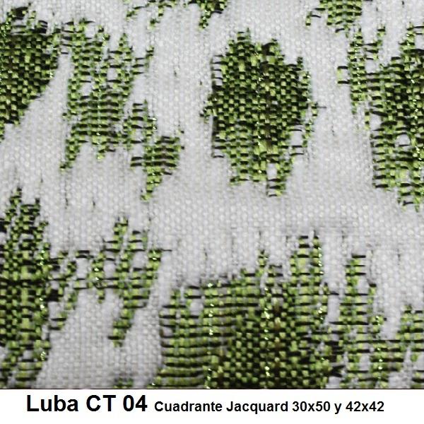 Cojín Jacquard Luba CT Reig Marti Verde Cojín 30x50 Verde Cojín 42x42