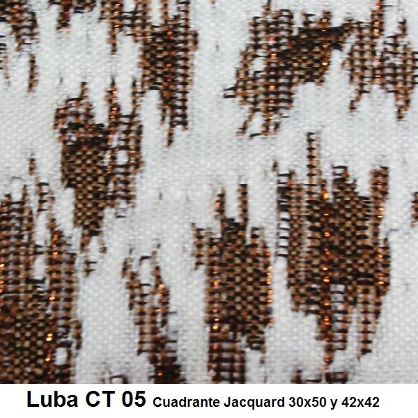 Cojín Jacquard Luba CT Reig Marti Marrón Cojín 30x50 Marrón Cojín 42x42