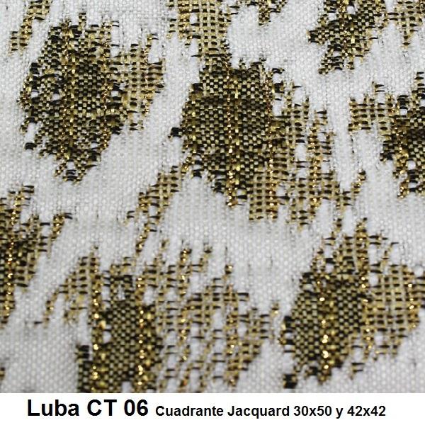 Cojín Jacquard Luba CT Reig Marti Oro Cojín 30x50 Oro Cojín 42x42