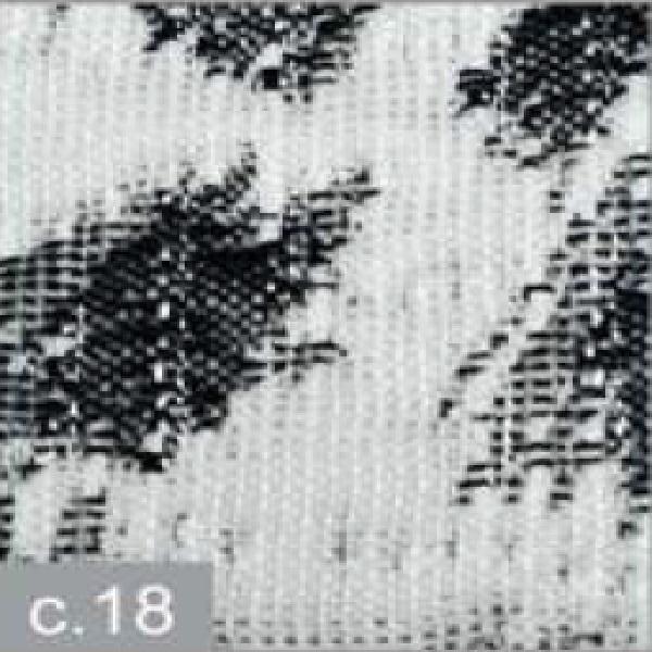 Cojín Jacquard Luba CT de Reig Marti. Negro Cojin 42x42