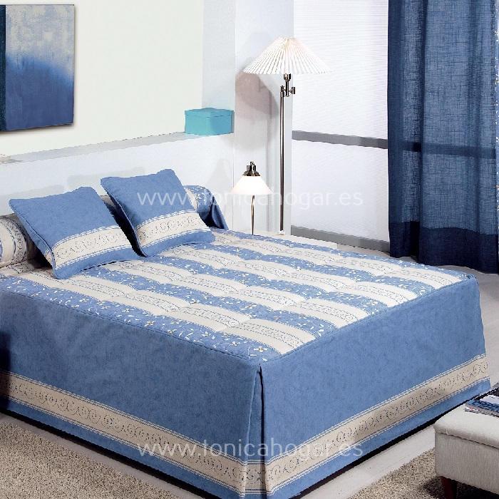 Colcha Edredón MEME 01 Azul de Reig Marti Azul 090 Azul 105 Azul 135 Azul 150