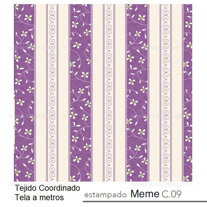 Tejido MEME MT Morado de Reig Marti Morado Tela Alto 280