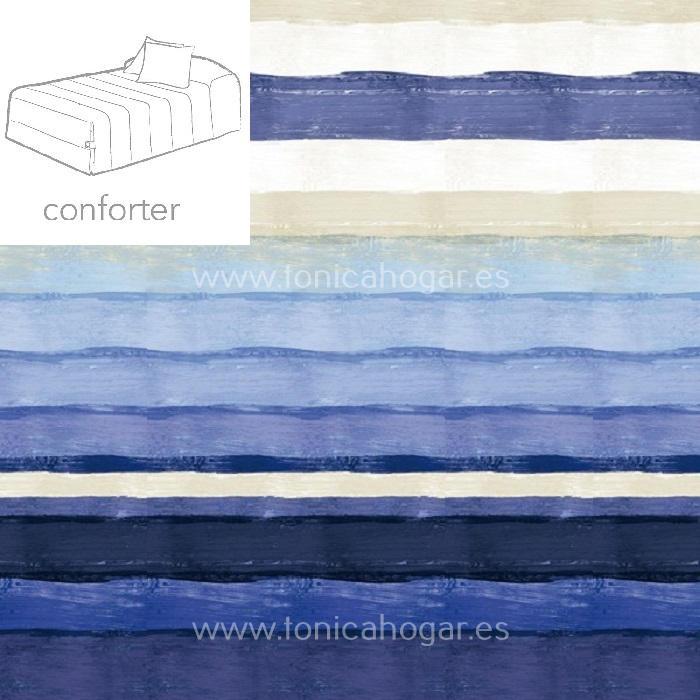 Edredón Conforter MONTI 02 de Reig Marti Azulón 090 Azulón 105 Azulón 135 Azulón 150