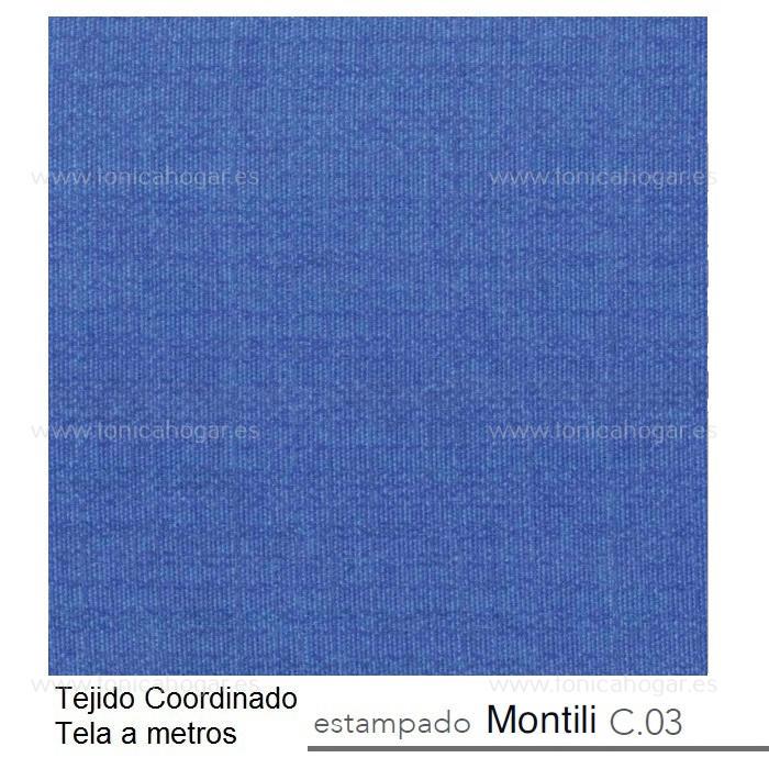 Tejido MONTILI MT de Reig Marti Azulón Tela Alto 280