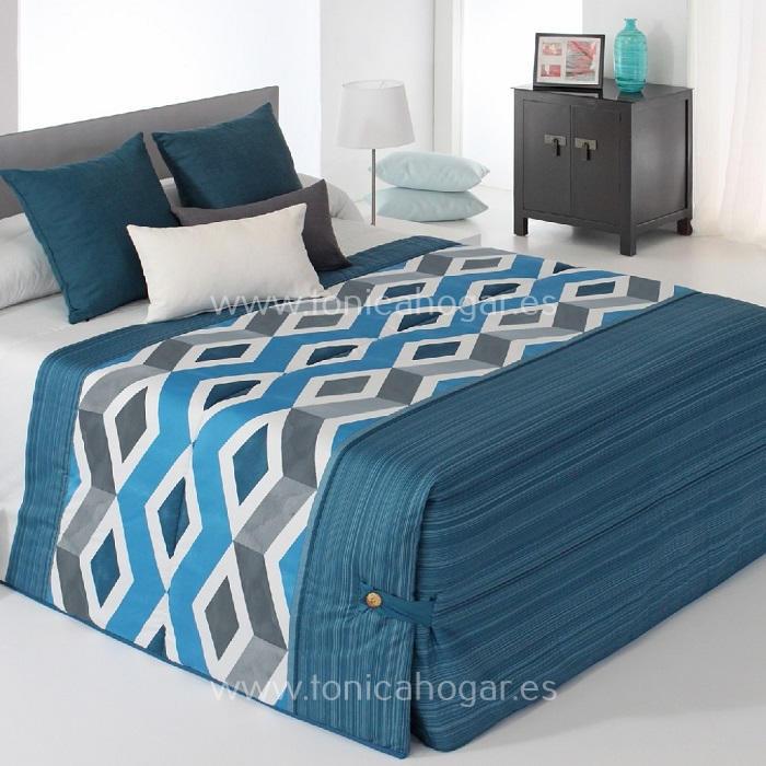 Edredón Conforter MORGAN 02 Azul de Reig Marti Azulón 090 Azulón 105 Azulón 135 Azulón 150