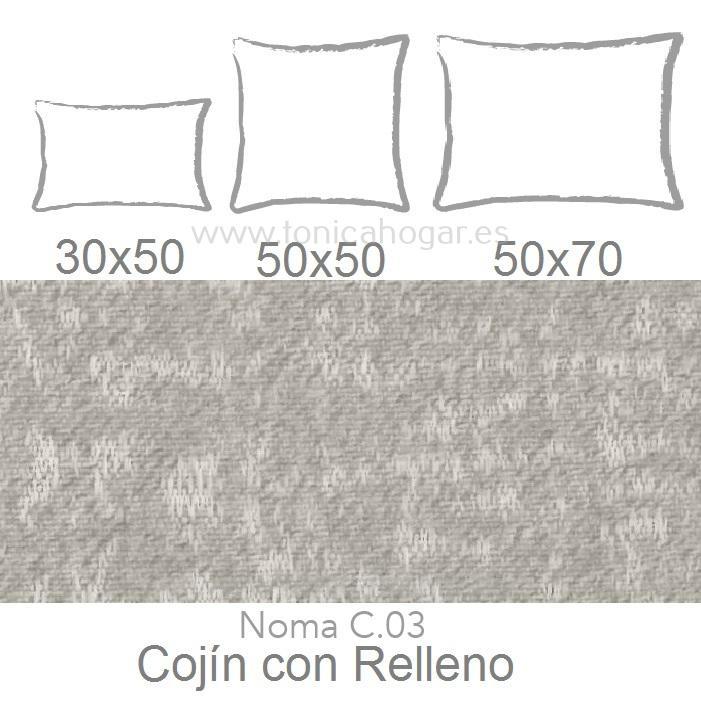 Cojín NOMA A de CAÑETE Lino Cojín 30x50 Lino Cojín 30x50 Lino Cojín 50x50 Lino Cojín 50x50 Lino Cojín 50x70 Lino Cojín 50x70