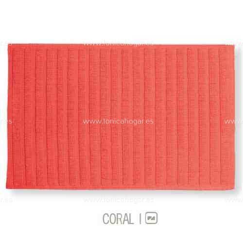 Alfombrilla de Baño New Plus de Sorema Coral Alf.Baño 50x70